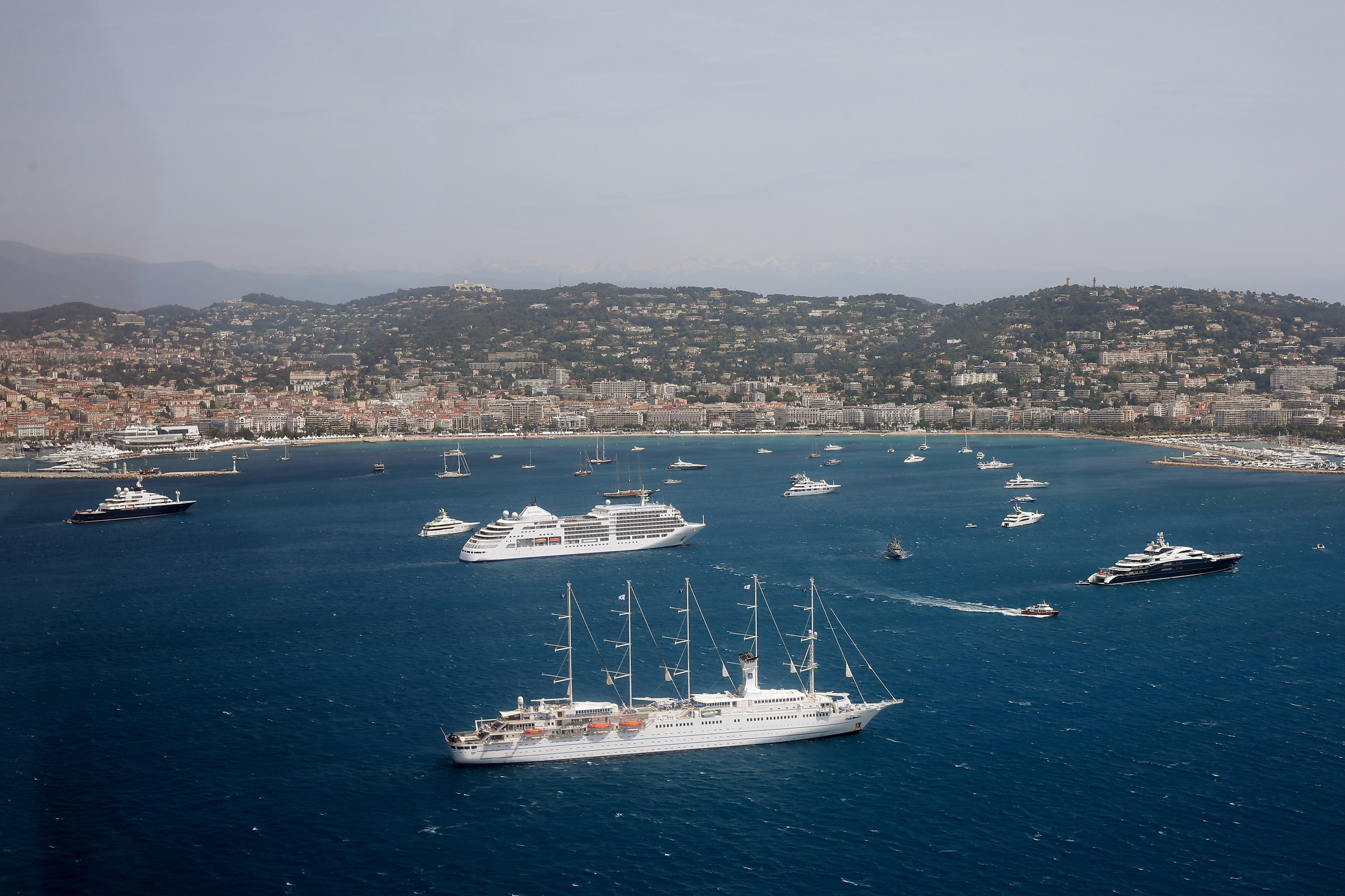 Cannes From The Air - The 67th Annual Cannes Film Festival