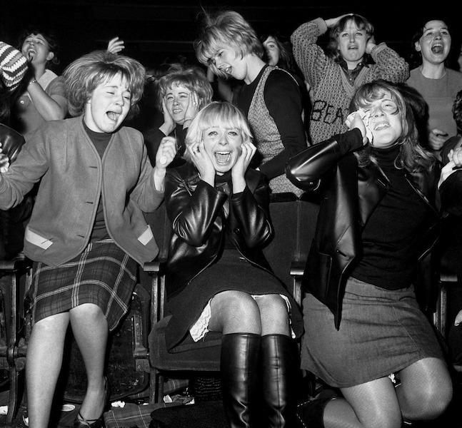 Music - The Beatles concert - Manchester - 1963