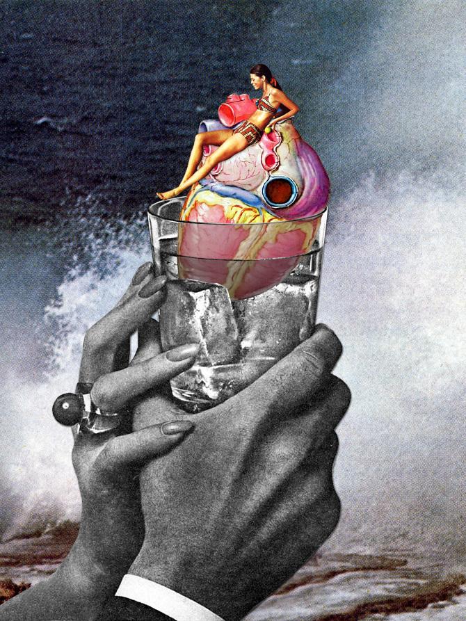 Heart on the Rocks