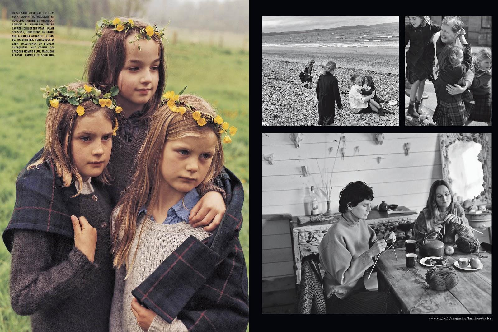 Stella Tennant by Bruce Weber (A Highland Friendship - Vogue Italia October 2012) 7