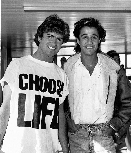 Wham pop group