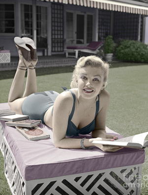 marilyn-monroe-summer-reading-martin-konopacki
